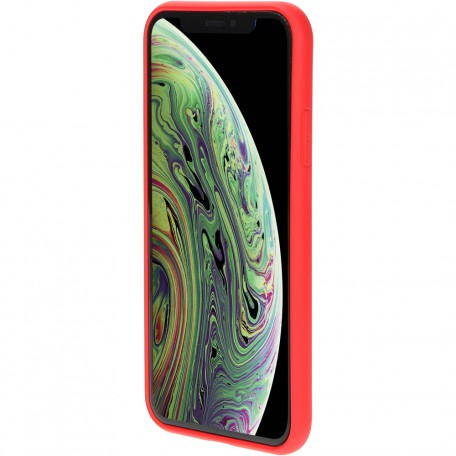 Mobiparts Silicone Cover Apple iPhone X/XS Scarlet Red